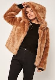 we love a faux fur coat here at missguided and this caramel