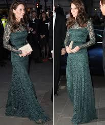 kate middleton dresses duchess of cambridge kate middleton stuns in floor length lace