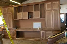 built in cabinet for kitchen custom builtin mahogany wood home office cabinets u2013 mortise u0026 tenon