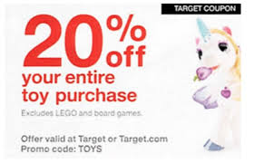 target black friday promotion code new target coupon 20 off your entire toy purchase 11 22 11 25