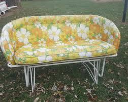 Retro Patio Furniture Sets Vintage Metal Patio Furniture Etsy