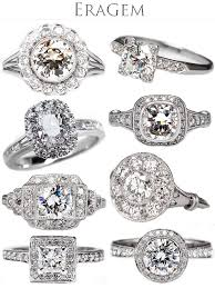 vintage weddings rings images Vintage engagement rings from eragem junebug weddings jpg