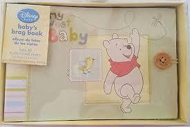 brag book photo album 4x6 disney s winnie the pooh baby s brag book photo album 4x6