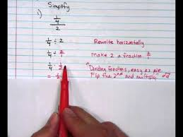 complex fractions and unit rates ramos math youtube