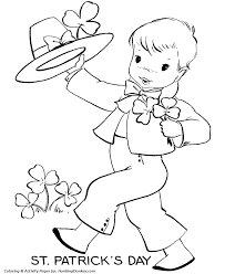 st patricks coloring pages 20 drawings st