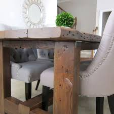 Make Your Own Reclaimed Wood Desk by Our Dining Room Table We Made From Reclaimed Wood Hometalk