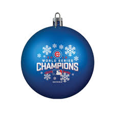 mlb 2016 world series champions ornament u2013 chicago cubs