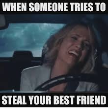 Best Friends Meme - when someone tries to steal your best friend best friend meme on