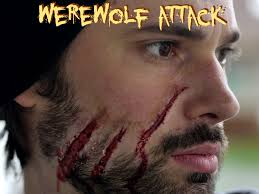 werewolf attack halloween makeup tutorial youtube