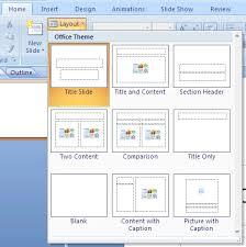 tutorial powerpoint design powerpoint 2007 starting a new presentation