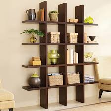 fascinating wall wooden panel bookcase design combined with of
