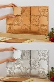 Tin Tiles For Kitchen Backsplash How To Install A Tin Tile Backsplash Tin Tile Backsplash Diy