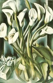 Tamara De Lempicka Art by Calla Lillies 1941 Tamara De Lempicka Wikiart Org
