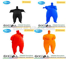 Blow Halloween Costumes Chub Yellow Masked Man Inflatable Blow Body Halloween