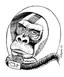 space monkey by rodrigodiazaravena on deviantart