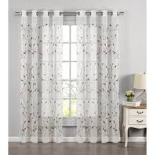 red sheer curtains shop the best deals for dec 2017 overstock com