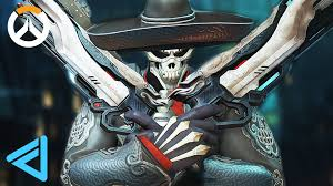 reaper background overwatch halloween reaper overwatch close