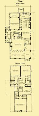 home plans for narrow lot house plans 3 4 bedroom coastal home on narrow lot