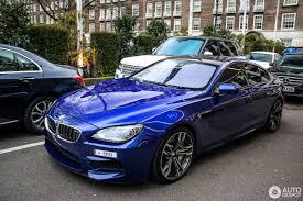 bmw m6 blue bmw m6 f06 gran coupé 2015 20 march 2017 autogespot