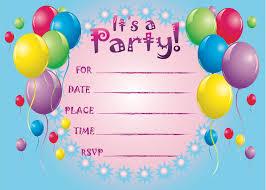 2 extraordinary free birthday invitations templates kids