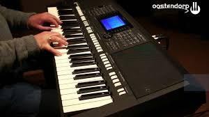 yamaha psr s750 keyboard sound demo youtube