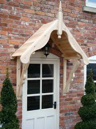 Front Porch Awnings Kids Ideas Front Door Canopy Wooden Kit Oak Porch Doorway How To