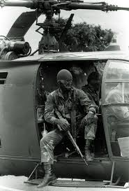 fireforce one man s war in the rhodesian light infantry rhodesian fire force aboard an alouette iii gunship ranger seal