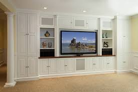 Family Room Cabinet Features Secret Storage Media Rooms Inc - Family room storage cabinets