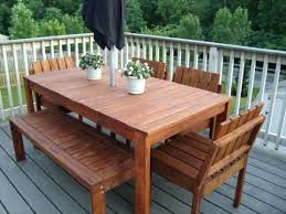 patio homemade patio furniture cleaner diy outdoor wood table