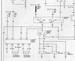 87 92 firebird headlight wiring diagram third generation f body