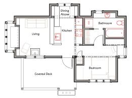 plan house simple architecture blueprints