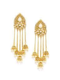 big jhumka gold earrings earrings beautiful earrings online big jhumka earrings