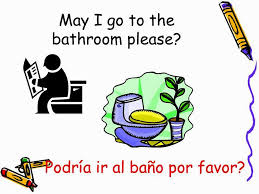 I Have To Go To The Bathroom I Need To Go To The Bathroom In Spanish 15 Kitchen Aid Ice Cream