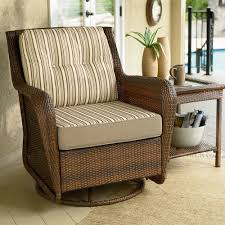 Swivel Chairs Design Ideas Furniture Interesting Wicker Swivel Glider Recliner With End