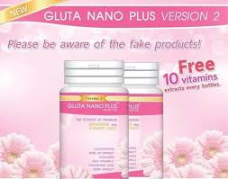 Gluta Nano 49 99 gluta nano plus version 2 whitening and v shape 900k 30