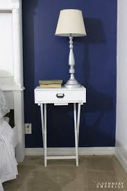 Pottery Barn Knock Off Desk Pottery Barn Knockoff Diy Nightstand The Summery Umbrella