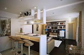 cuisine avec bar ouvert sur salon cuisine ouverte sur salon surface plan pe e