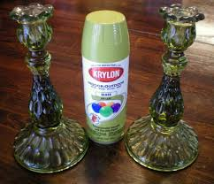 new home decor touches using krylon spray paint craft o maniac