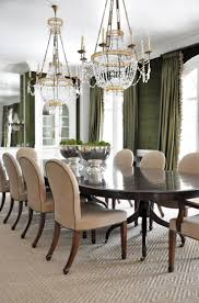 olive green dining room home design ideas
