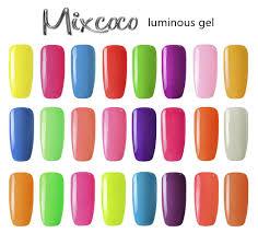 most professional factory mixcoco luminous uv gel nail polish