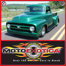 1953 ford f100 motoexotica classic car sales