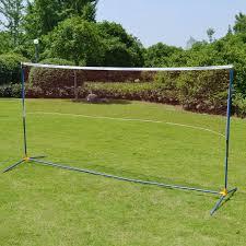 badminton nets portable training beach volleyball badminton