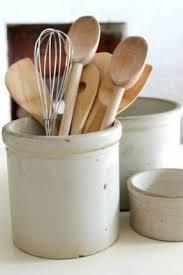 kitchen utensil canister kitchen utensil crock foter