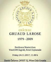 30 years of château gruaud events wine club croatia