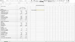 Asset Management Spreadsheet Calculating Working Capital In Excel Youtube