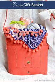 hello gift basket easy and luxurious purse gift basket hello home