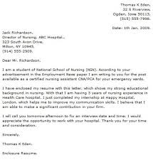 nurse sample cover letter the 25 best nursing cover letter ideas