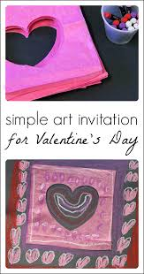 valentine u0027s day craft with paper and oil pastels