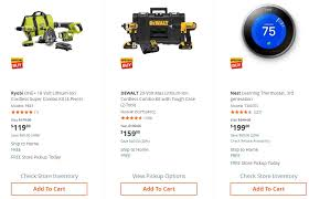 home depot combo tool black friday home depot black friday 2017 ad deals funtober