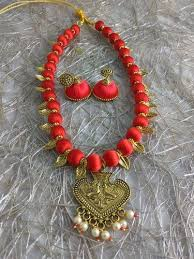 jewelry designs necklace sets images Silk thread jewellery designer silk thread necklace set at rs jpg